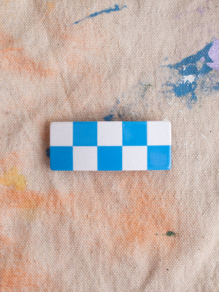 Checker Barrette