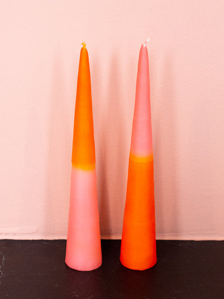 Two Tone Candles