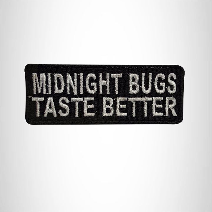 MIDNIGHT BUGS Small Patch Iron on for Vest Jacket SB562