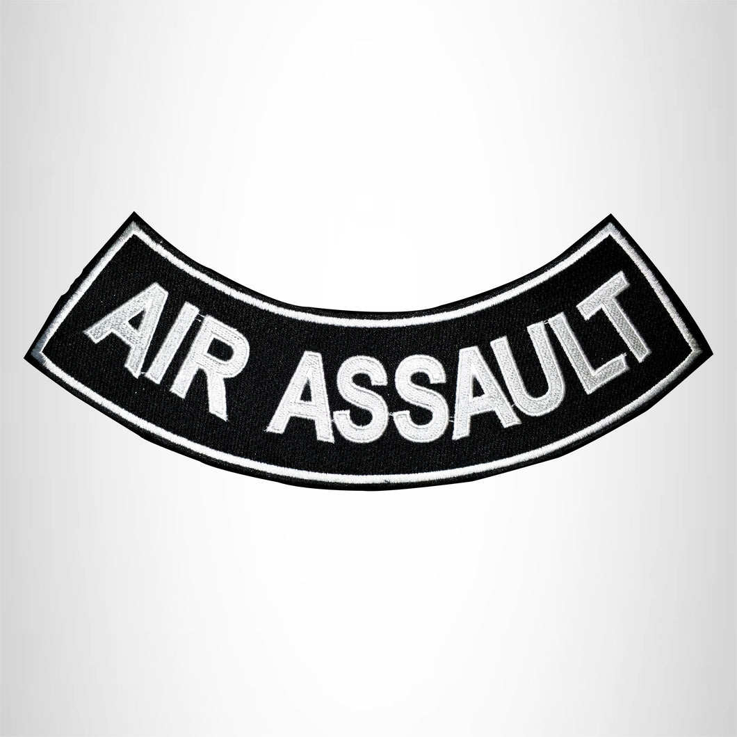 Air Assault Back Bottom Rocker Patch for Biker Vest Jacket