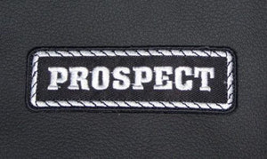 Prospect Patch Badge Emblem for Biker motorcycle Club Officer Leather vest New-STURGIS MIDWEST INC.