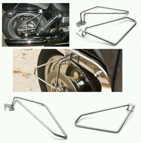 Motorcycle saddlebags brackets for harley sportster low and super low-STURGIS MIDWEST INC.