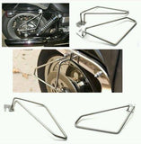 Motorcycle saddlebags brackets for harley sportster low and super low-Motorcycle Saddlebag Brackets
