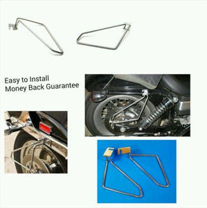 Motorcycle saddlebags brackets for suzuki boulevard M90R Intruder M1500R-STURGIS MIDWEST INC.