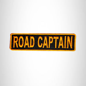 ROAD CAPTAIN Small Patch Iron on for Vest Jacket SB601