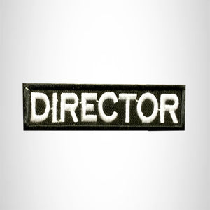 DIRECTOR Small Patch Iron on for Vest Jacket SB604