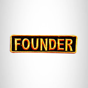 FOUNDER Small Patch Iron on for Vest Jacket SB603
