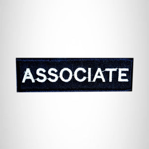 ASSOCIATE Small Patch Iron on for Vest Jacket SB605