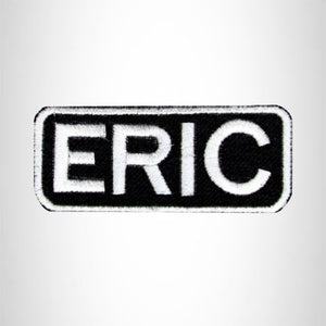 Eric Iron on Name Tag Patch for Motorcycle Biker Jacket and Vest NB159