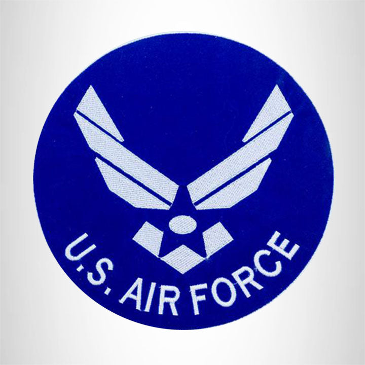 U.S. AIR FORCE MODERN Iron on Center Patch for Biker Vest CP179