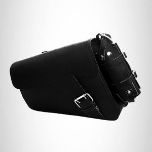 Motorcycle swing arm bag Solo Side Bag Single Saddlebag For Harley Davidson Sportster 883