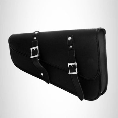 Motorcycle leather swingarm bag single saddlebag for harley Sportster