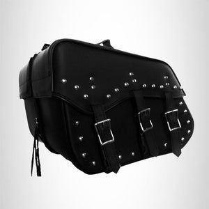Motorcycle Detachable Saddlebag Quick Release Zip Off Steel Reinforced New