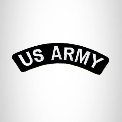 U.S. Army American Veterans Small Military Rocker Patch