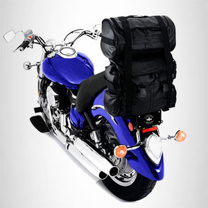 T bag set Motorcycle sissy bar Bag Tbag for harley honda yamaha