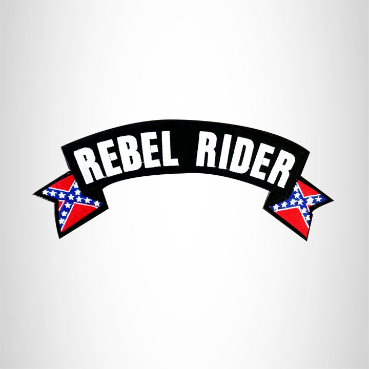 Marine Dad White on Black Top Rocker Patch for Biker Vest Jacket TR367