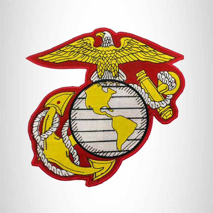 USMC Center Patch Badge Marine Corps EGA 10