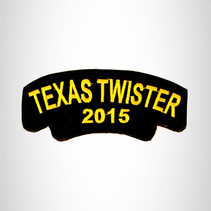 Texas Twister 2015 Small Patch Iron on for Biker Vest SB816