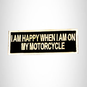 I am not Racist Just Color Blind Small Patch Iron on for Biker Vest SB832