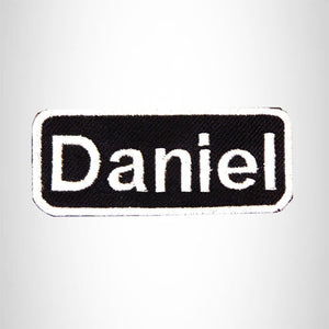 Daniel Iron on Name Tag Patch for Motorcycle Biker Jacket and Vest NB150