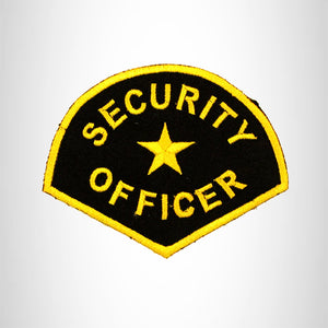 SECURITY OFFICER Iron on Small Patch for Biker Vest SB847