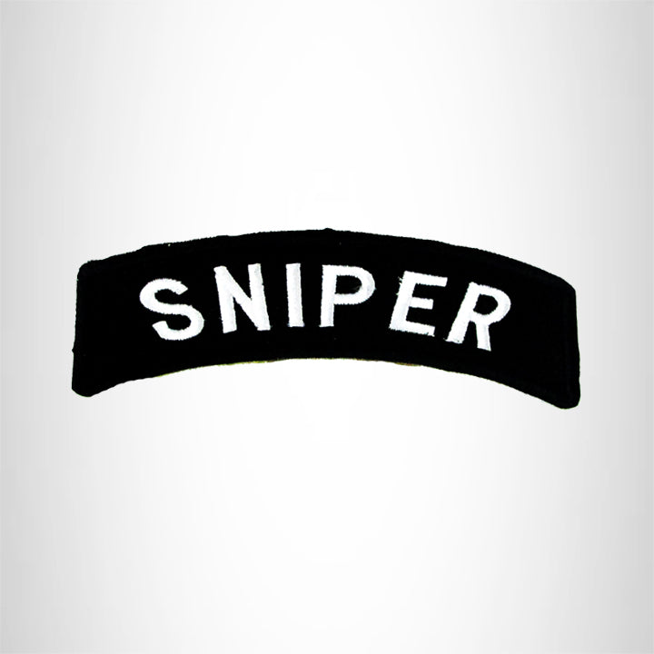 Sniper American Veterans Small Military Rocker Patch