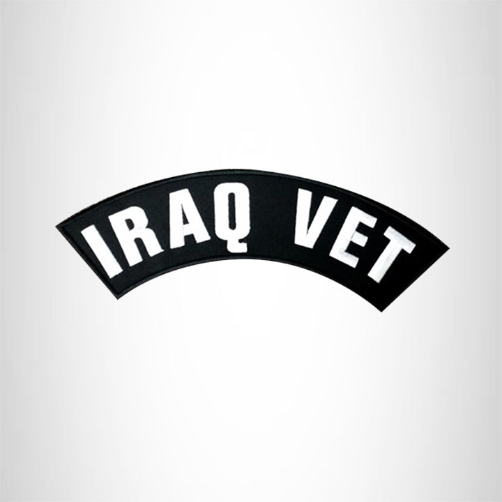 IRAQ VET Top Rocker Patches for Vest jacket TR283