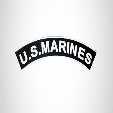 U.S. MARINES Top Rocker Patch for Motorcycle Jacket Vest