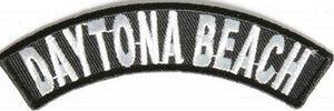 Daytona Beach Rocker Patch Small Embroidered Motorcycle NEW Biker Vest Patch-STURGIS MIDWEST INC.