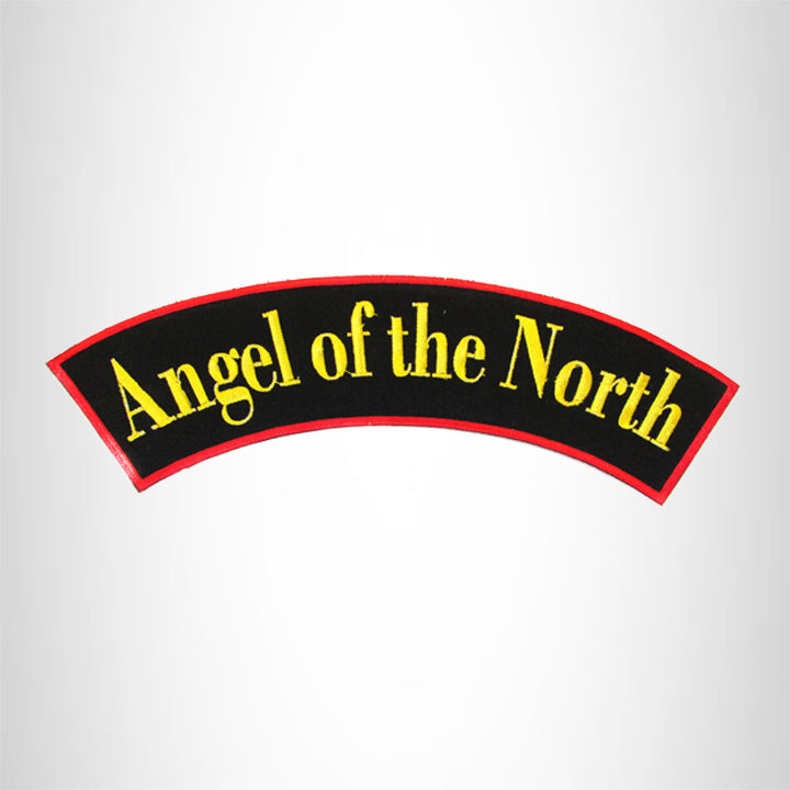 ANGEL of the NORTH Top Rocker Patch for Biker Vest Jacket TR321
