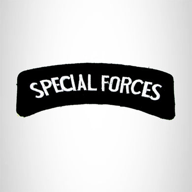 Special Forces American Veterans Small Military Rocker Patch