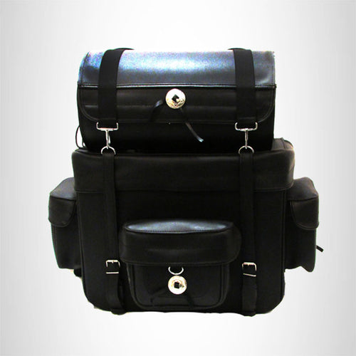 motorcycle Travel Bag Two-Piece Luggage Sissybar  T bag Studded SBTB540S