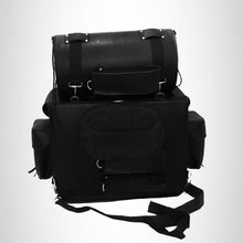 Load image into Gallery viewer, motorcycle Travel Bag Two-Piece Luggage Sissybar  T bag Studded SBTB540S