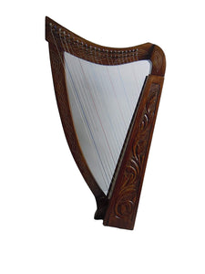 Celtic Irish Lever Harp 22 Strings Free Deluxe Bag - Extra Strings & Tuning key