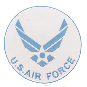 US Air Force Round Back Patch Insignia sign for Biker motorcycle vest or Jacket-STURGIS MIDWEST INC.
