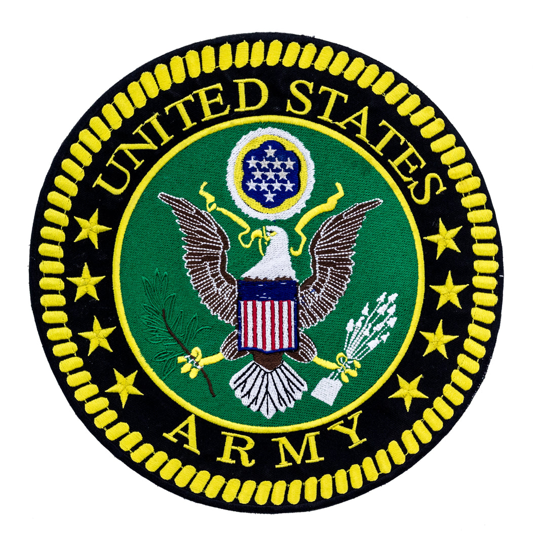 UNITED STATES ARMY Patch for Vest Jacket-STURGIS MIDWEST INC.