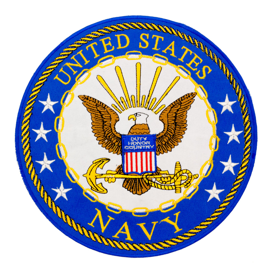 UNITED STATES NAVY Patch for Vest Jacket-STURGIS MIDWEST INC.