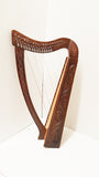 36 inch Large Hand Made and Hand Polished 22 Strings Harp Free Carrying Case-Harps-STURGIS MIDWEST INC.