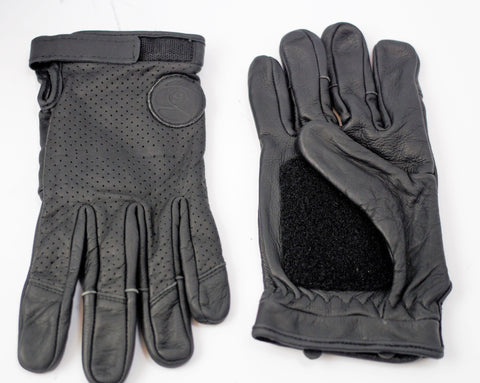genuine leather motorcycle  gloves with vibration control palm size XL/2Xl