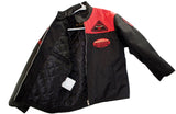 motorcycle kids jacket red/black Usa mode motor usa classics size 10