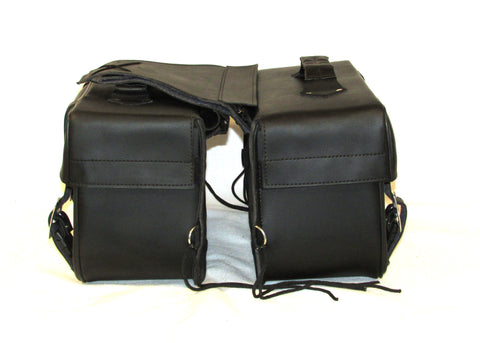 Saddlebags Zip off Velcro Closure on Lid Two Strap with Quick Release Buckles SAD103