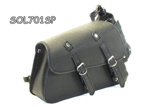 Split leather two strap swing arm bag For Harley Sportster 883 New-STURGIS MIDWEST INC.