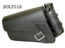 Load image into Gallery viewer, Motorcycle single strap swing arm bag 1 Pin buckle three adjustable strap mounting-STURGIS MIDWEST INC.