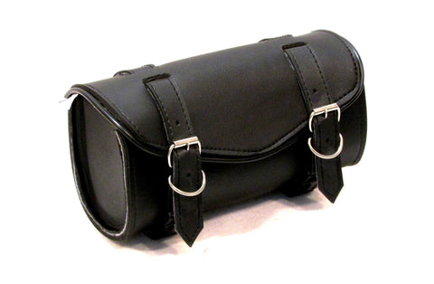 Motorcycle Tool Bag Front Fork Bag Two Strap with Quick Release Lined TLB101