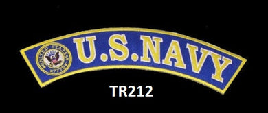 US NAVY PATCH TOP ROCKR FOR MOTORCYCLE BIKER LEATHER VEST JACKET-STURGIS MIDWEST INC.
