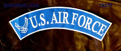 US Air Force Patch Rocker for Biker motorcycle vest or Jacket Brand New-STURGIS MIDWEST INC.
