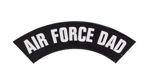 AIR FORCE DAD Top Rocker Patches for Vest jacket TR293-STURGIS MIDWEST INC.