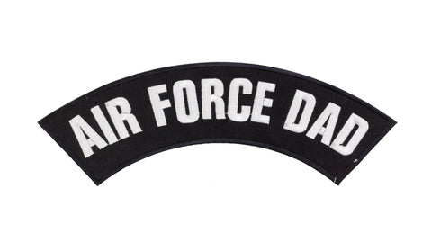 AIR FORCE DAD Top Rocker Patches for Vest jacket TR293