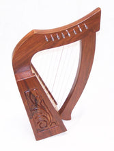 Load image into Gallery viewer, 19inch Tall 8 string Lily Celtic Harp for Children New Carrying case and extra strings-STURGIS MIDWEST INC.