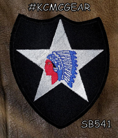 2ND INFANTRY  INSIGNIA Small Patch for Vest jacket SB541